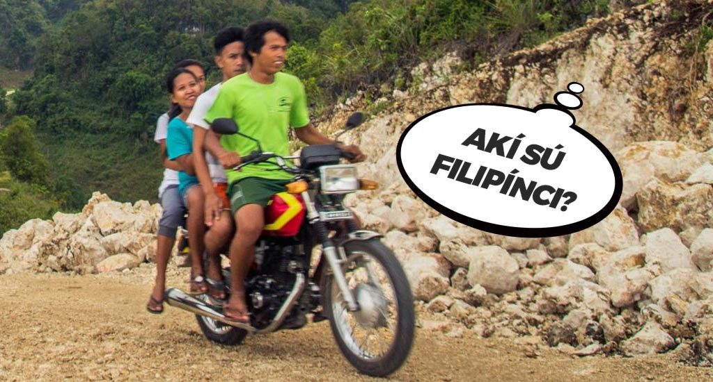 Filipínci na motorke
