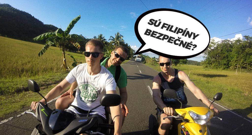 Jazda na motorke na Filipínach. Sú Filipíny bezpečné?
