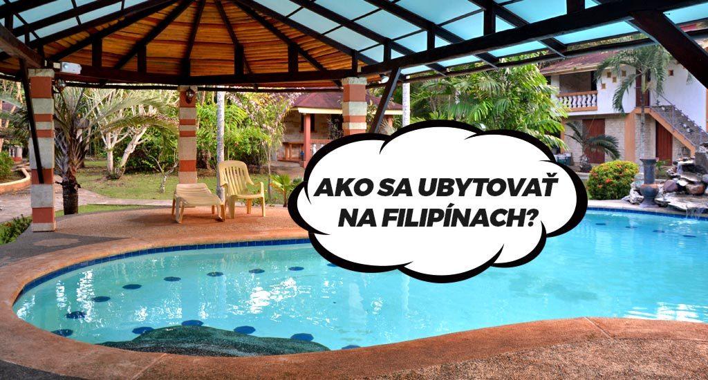 Hotel na Bohole s bazénom. Ako na ubytovanie na Filipínach?