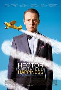 Hector and the Search for Happiness - film o psychiatrovi, ktorý hľadá šťastie a cestuje po svete.
