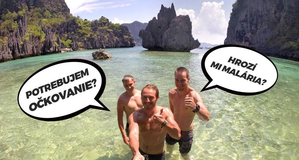 Palawan, ostrov Candlao. Potrebujem očkovanie na Filipíny? Hrozí na Filipínach malária?