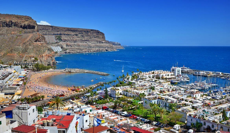 Kanárske ostrovy bez cestovky. Ostrov Gran Canaria.