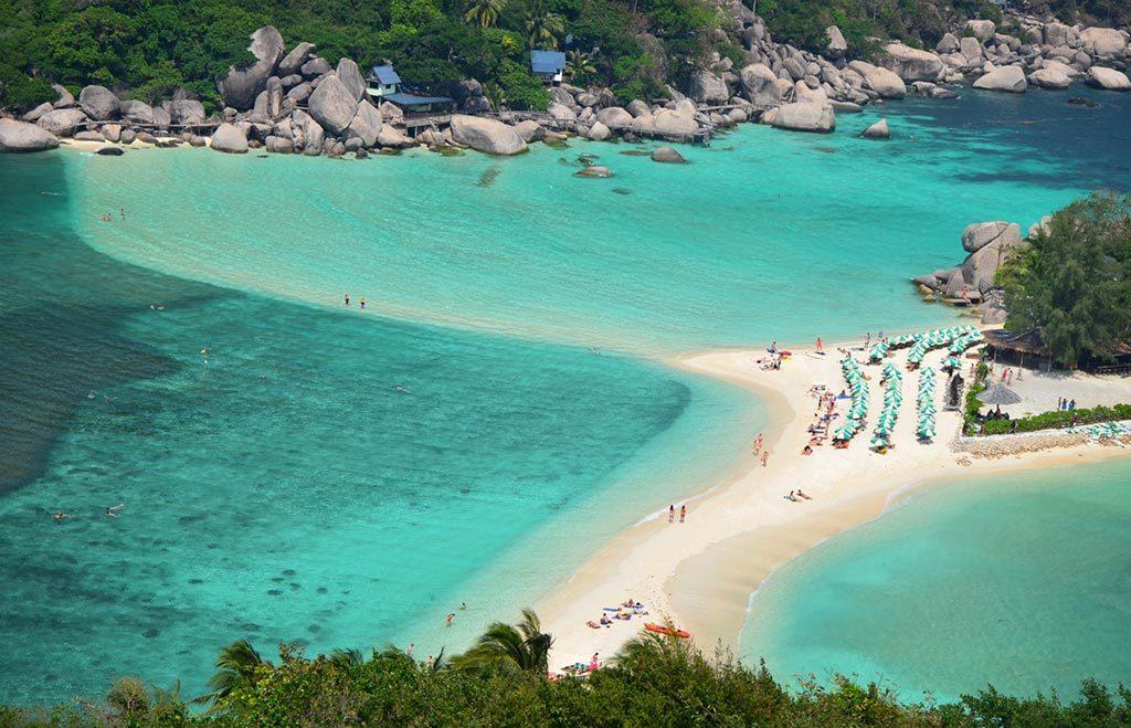 Jednu zimu som strávil v Thajsku. Ostrov Ko Tao.