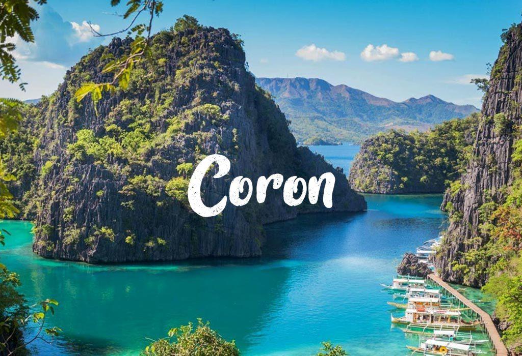 Ostrov Coron na Filipínach