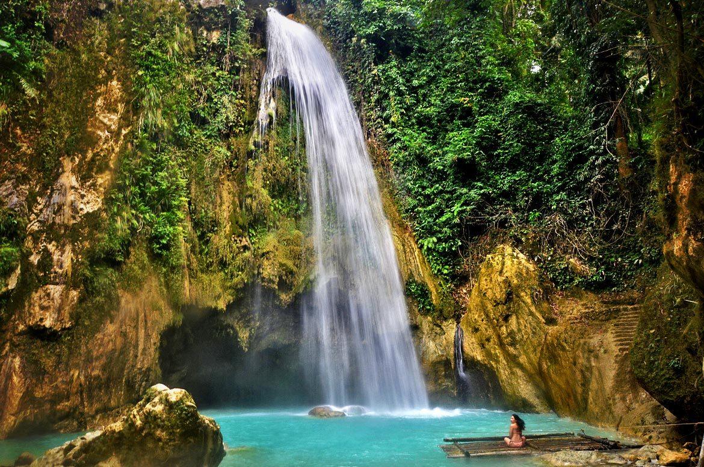 Tajný tip na vodopády - Filipíny.