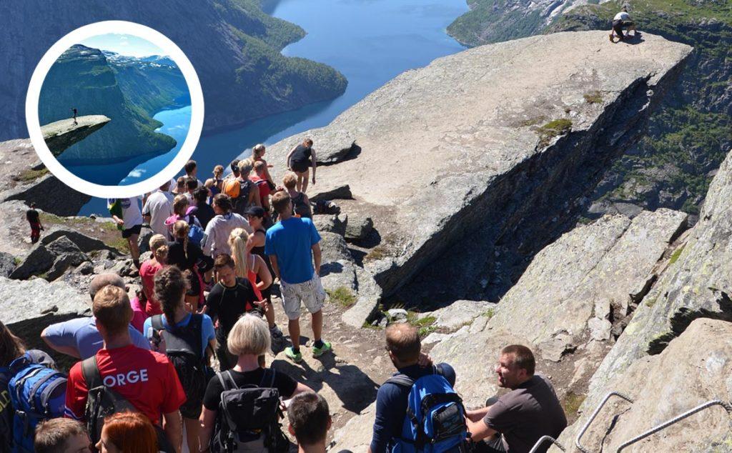 Trolltunga v Nórsku - ako to tam skutočne vyzerá?