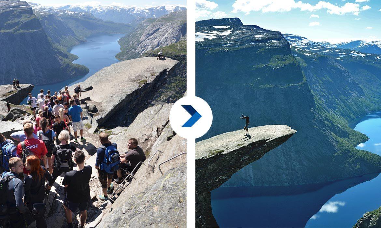 Krásne cestovateľské fotky? Takáto je často realita cestovania