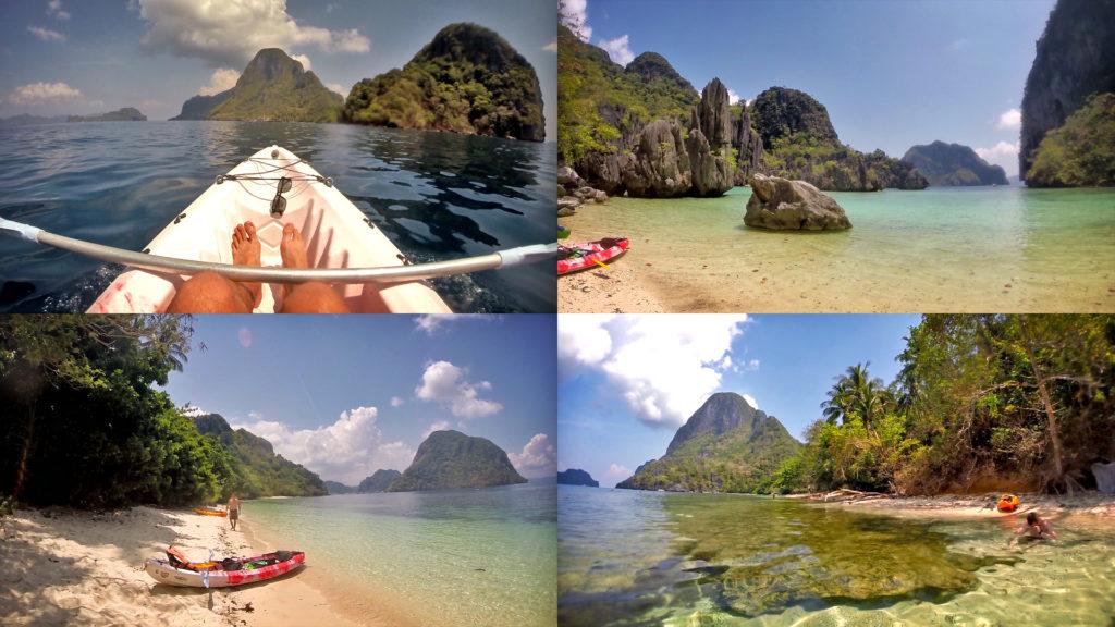 Kajakovanie a ostrov Cadlao - Filipíny