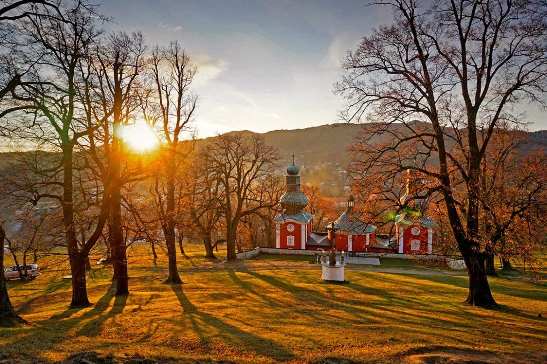 Banská Štiavnica - výhľad z kalvárie