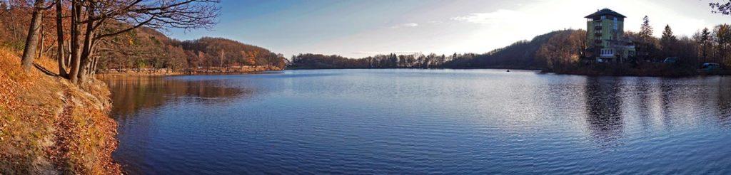 Jazero Počúvadlo - panoráma