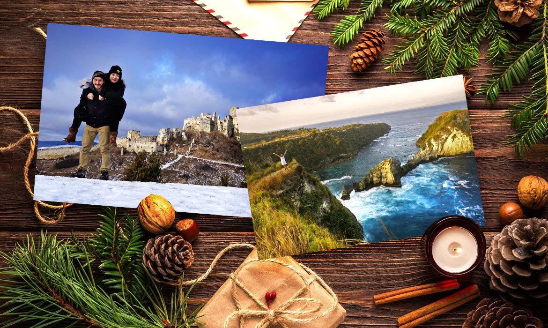 Foto darčeky pre blízkych na Vianoce
